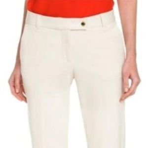 Tory Burch • sylvie cropped pants capris in ivory